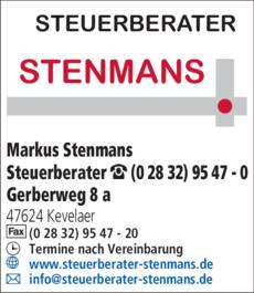 Anzeige Stenmans Markus