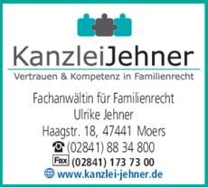 Anzeige Rechtsanwältin Jehner Ulrike
