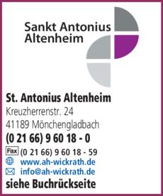 Anzeige Altenheim St. Antonius
