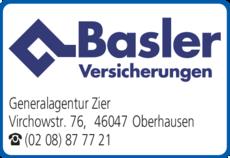 Anzeige Versicherungen Basler