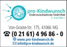 Anzeige Frauenarzt Döhmen, Georg Dr.