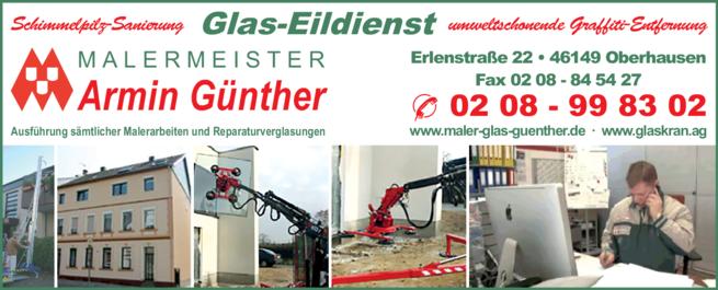 Anzeige Glas-Eildienst Günther