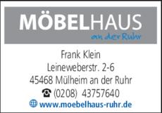 Möbelhaus An Der Ruhr In Mülheim An Der Ruhr In Das örtliche