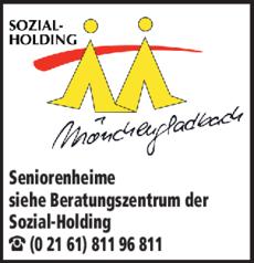 Anzeige Seniorenheime Beratungszentrum der Sozial-Holding