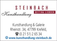 Anzeige Kunsthandlung Steinbach, Inh. B. Liebsch