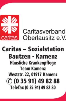Anzeige Caritas-Sozialstation