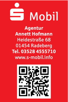 Anzeige S-Mobil Agentur Annett Hofmann