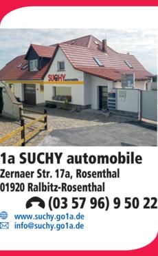 Anzeige 1a Suchy automobile
