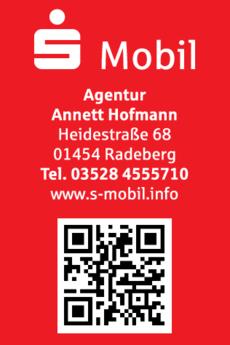 Anzeige Agentur Annett Hofmann