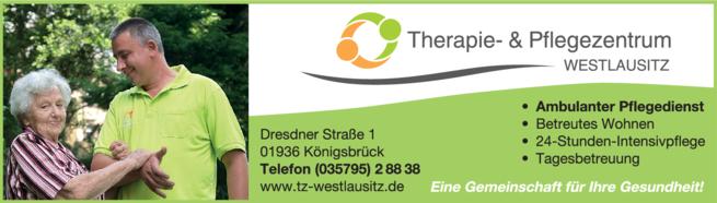 Anzeige Therapie- & Pflegezentrum Westlausitz GmbH
