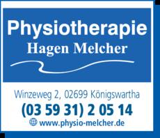 Anzeige Physiotherapie Hagen Melcher