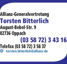 Anzeige Allianz Torsten Bitterlich