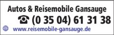Anzeige Autos & Reisemobile Gansauge