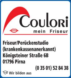 Anzeige Coulori Friseur GmbH