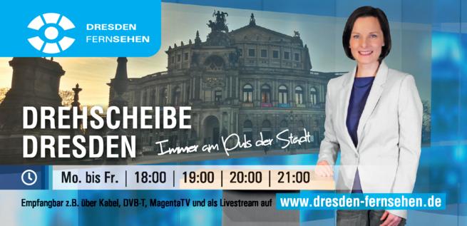 Anzeige DRESDEN FERNSEHEN   Fernsehen in Dresden GmbH