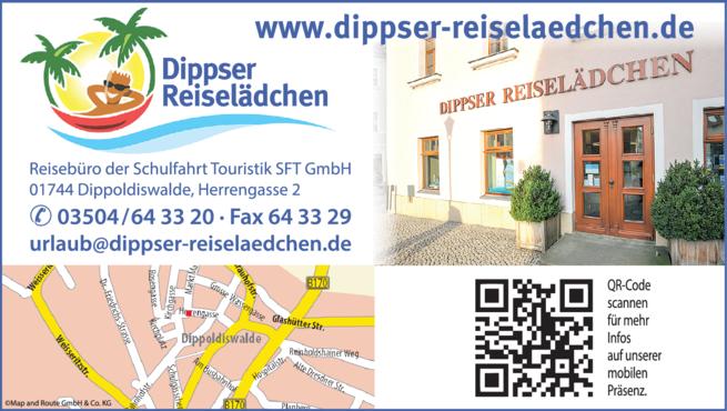 Anzeige Dippser Reiselädchen