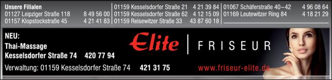 Anzeige Elite Friseur- und Kosmetik GmbH Verwaltung