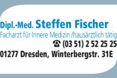 Anzeige Fischer Steffen Dipl.-Med. Internist