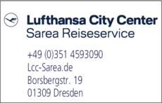 Anzeige Agentur Sarea Reiseservice