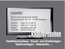 Anzeige narelic GmbH