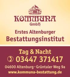 Anzeige Kommuna GmbH