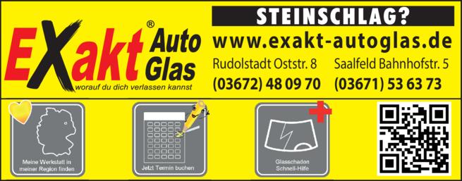Anzeige Autoglaserei Exakt-AutoGlas