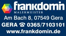 Anzeige Domin Frank