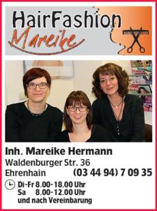 Anzeige Hair Fashion Mareike