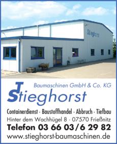 Anzeige Stieghorst Containerdienst