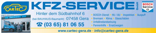 Anzeige AUTO CARTEC