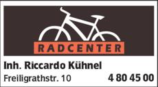 Anzeige RADCENTER Kühnel Riccardo