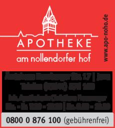 Anzeige Apotheke am Nollendorfer Hof