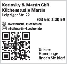 Anzeige Korinsky & Martin GbR