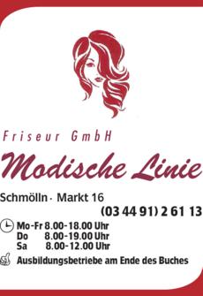 Anzeige Modische Linie Friseur GmbH