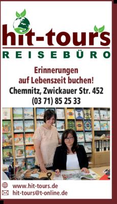 Anzeige hit-tours Reisebüro GmbH