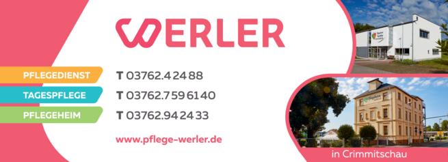 Anzeige Pflegedienst Werler
