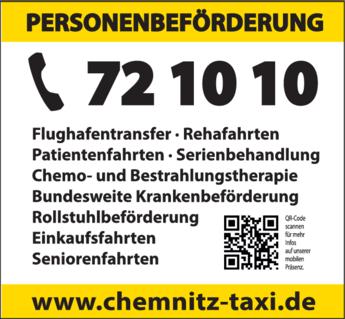 Anzeige Taxi Groß
