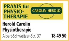 Anzeige Herold Carolin