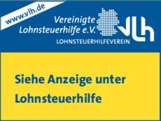 Anzeige Lohnsteuerhilfe Vereinigte Lohnsteuerhilfe e.V. Chemnitz