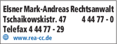 Anzeige Elsner Mark-Andreas