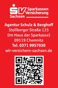 Anzeige Sparkassen-Versicherung Sachsen Agentur Schulz & Berghoff