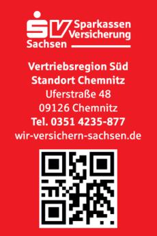 Anzeige Sparkassen-Versicherung Sachsen Vertriebsregion Süd