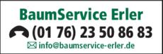 Anzeige BaumService-Erler Baumpflege