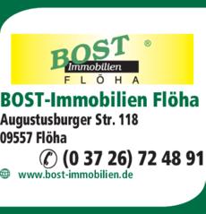 Anzeige BOST Immobilien Flöha