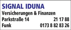 Anzeige SIGNAL IDUNA
