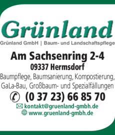 Anzeige Grünland GmbH