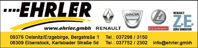 Anzeige Autohaus Ehrler GmbH