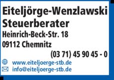Anzeige Eiteljörge-Wenzlawski Steuerberater