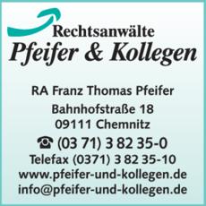 Anzeige Anwälte Pfeifer & Kollegen