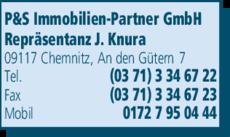 Anzeige P&S Immobilien-Partner GmbH